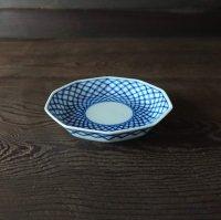 七宝文豆皿(十角)