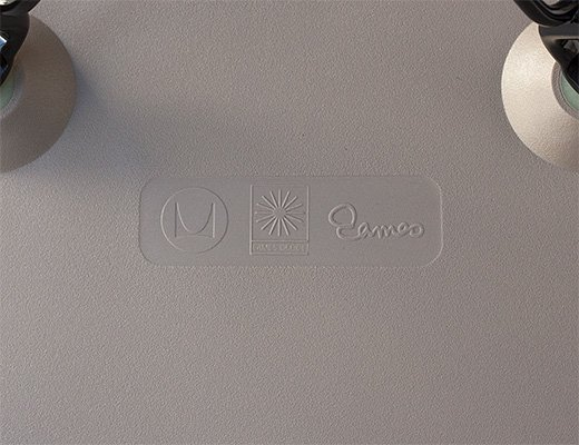 イームズ・プラスチックシェルチェア DAR(ブラックレッグ) イメージ7