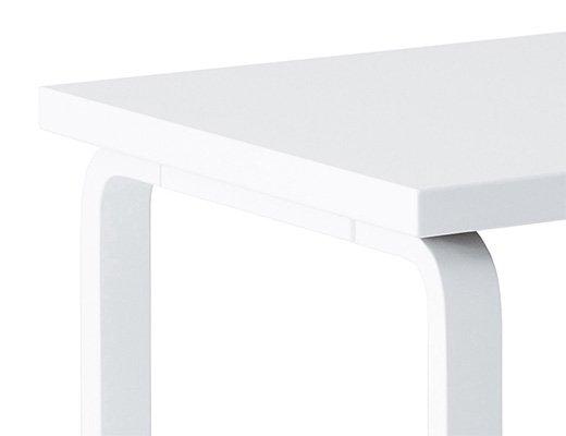 80Aテーブル(ホワイトラッカー) イメージ2