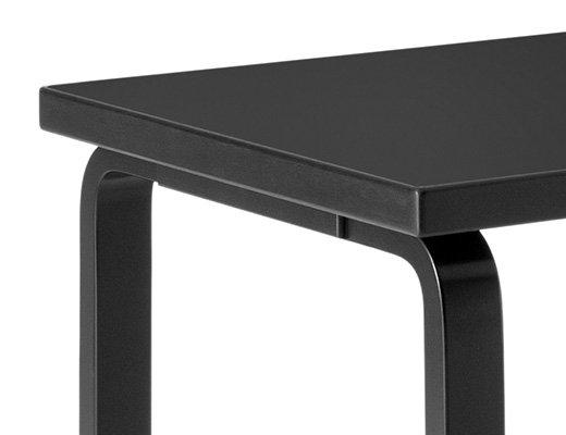 80Aテーブル(ブラックラッカー) イメージ2