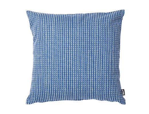 リヴィ クッションカバー40cm(ブルー/ホワイト)