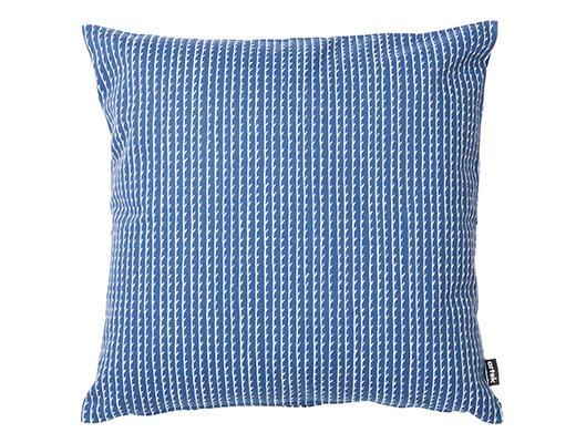 リヴィ クッションカバー50cm(ブルー/ホワイト)