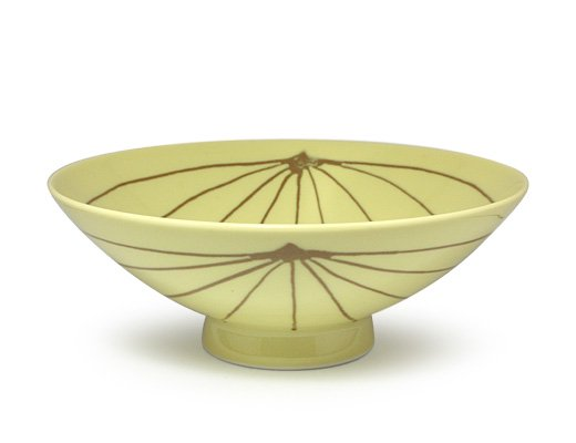 白山陶器 平形めし茶碗(Y-15)