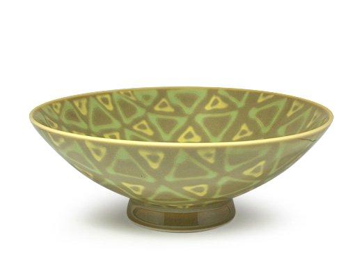 白山陶器 平形めし茶碗(K-7)