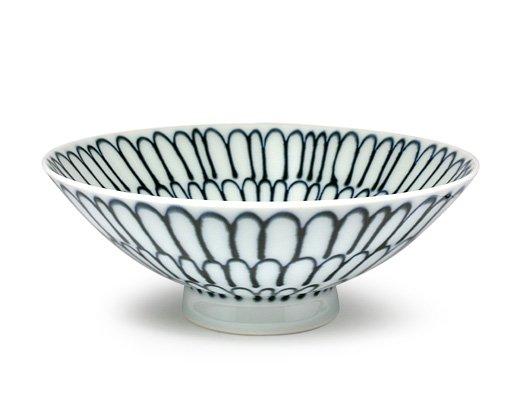 白山陶器 平形めし茶碗(P-4)