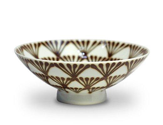 白山陶器 平形めし茶碗(Q-58)