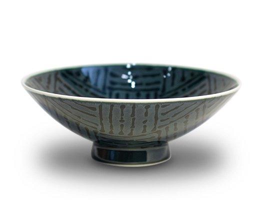 白山陶器 平形めし茶碗(GN-54)