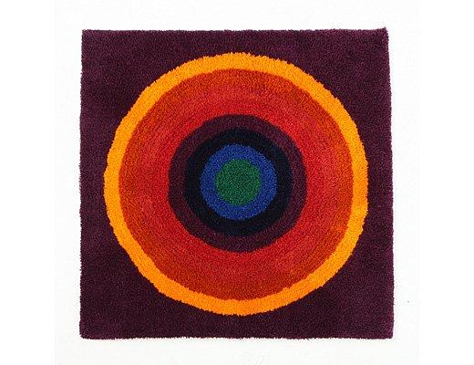 ヴェルナー・パントン ラグ(サークル・650×650)