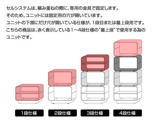 セルシステム 【1段用/最上段用ユニット】 イメージ9