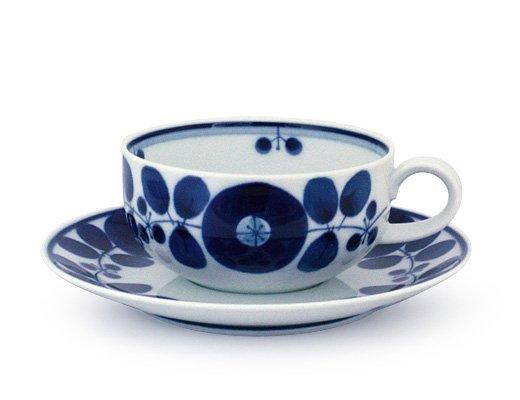 白山陶器 ブルーム ティーカップ&ソーサー