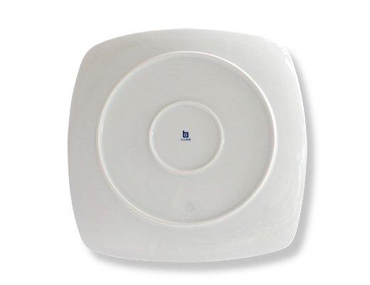白山陶器 重ね縞 反角多様皿 イメージ4