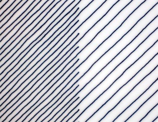 白山陶器 重ね縞 反角多様皿 イメージ5