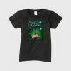 「シークレットガーデン」レディースTシャツ(黒)