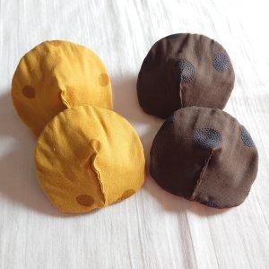 オーガニック母乳パッド 〈す〉カラー 《撥水布なし》 吸収力 痛み緩和