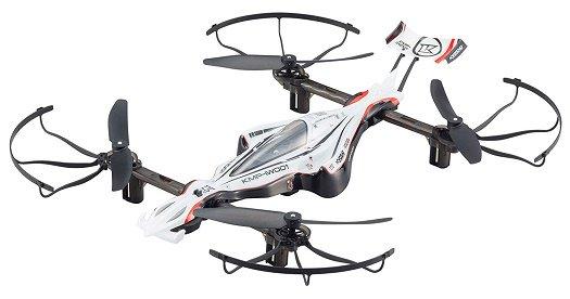 DRONE RACER G-ZERO (ドローンレーサー ジーゼロ)ダイナミックホワイト レディセット ドローン