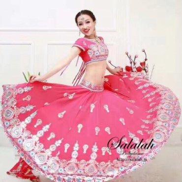ボリウッドダンス衣装 インド製 全2色 B0158