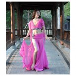 ベリーダンスオリエンタル衣装ローズピンク oc1412