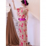 ベリーダンス衣装 サイーディドレス ヌーディーカラー刺繍デザイン 2色展開 SD1426 「baladi」「shabbi」「ワンピース」「レッスンウエア」「ドレス」
