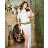 baladi shaabi saidi ドレス、ヒップスカーフ、ヘアスカーフ、ショートパンツ4点セット sd1522