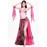 格安オリエンタル衣装 花柄ローズピンク OC0529