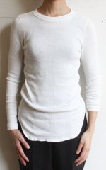 All Rib Long Sleeve T Shirt(OSHIMA REI/オオシマレイ)