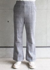 Glen Check Center Line PT  (OSHIMA REI/オオシマレイ)