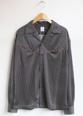 Dot's Open Neck Shirt(KIN/キン)