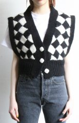 Diamond Pattern Vest