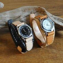 ウォッチバンド 腕時計(ギボシタイプ)WB01 [栃木レザー使用]
