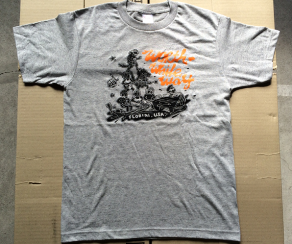 WORTHWHILE WAY - FEST 15 (T-SHIRTS/GRAY)