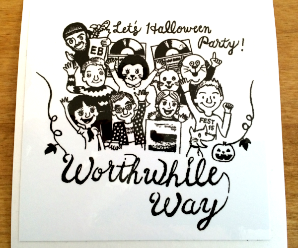 WORTHWHILE WAY - HALLOWEEN (STICKERS)
