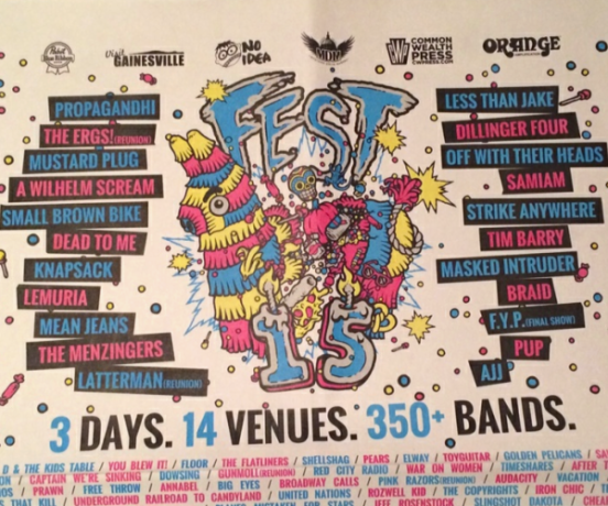 THE FEST 15 (POSTER)