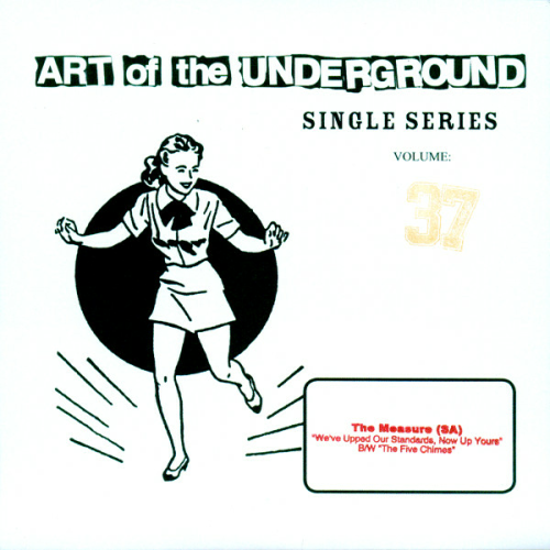THE MEASURE (SA) - ART OF THE UNDERGROUND SINGLE SERIES (7'')