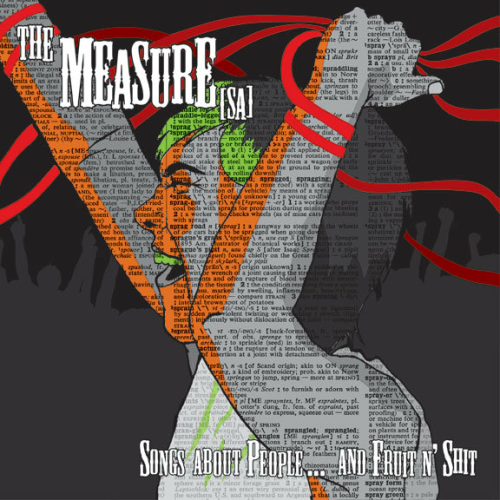 THE MEASURE (SA) - SONGS ABOUT PEOPLE... AND FRUIT N' SHIT (12'')