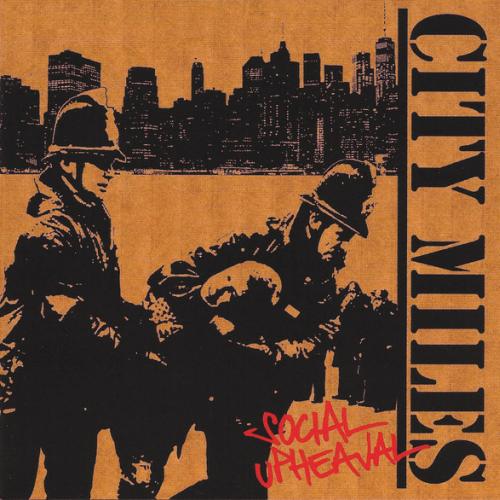 CITY MILES - SOCIAL UPHEAVAL (CD)