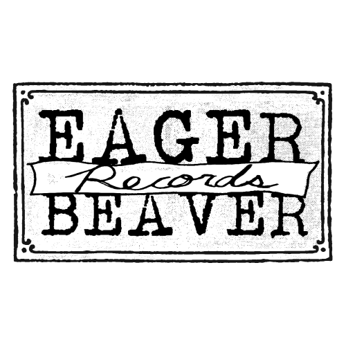 EAGER BEAVER RECORDS - LOGO (STICKERS)