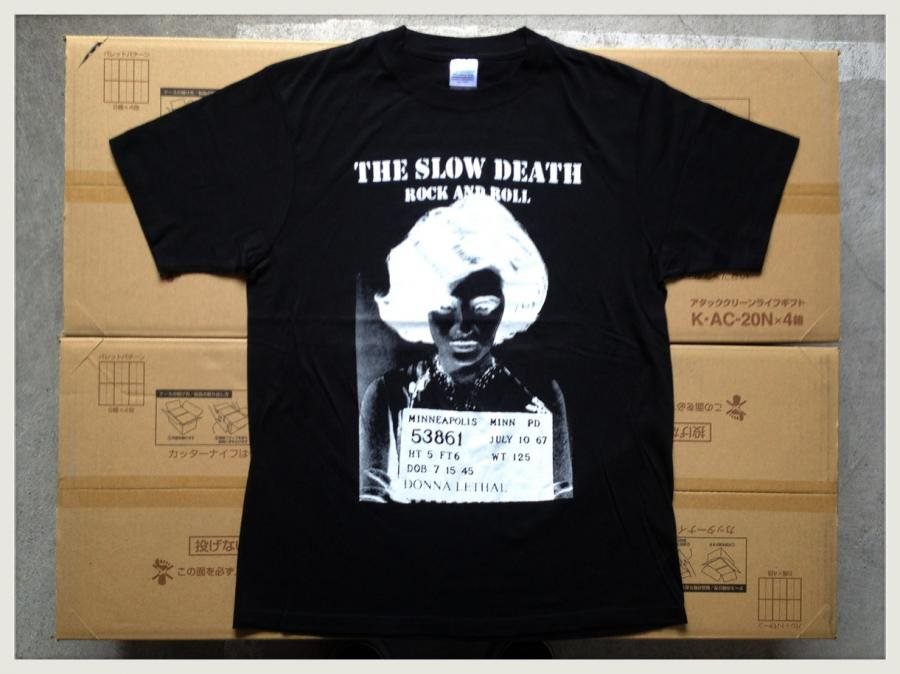THE SLOW DEATH - JAPAN TOUR 2014 (T-SHIRTS/BLACK)