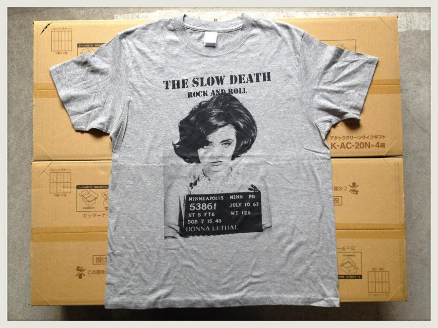 THE SLOW DEATH - JAPAN TOUR 2014 (T-SHIRTS/GRAY)