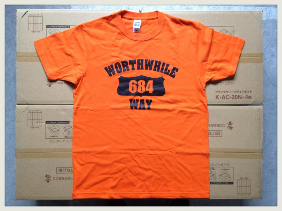 WORTHWHILE WAY - COLLEGE (T-SHIRTS/ORANGE)