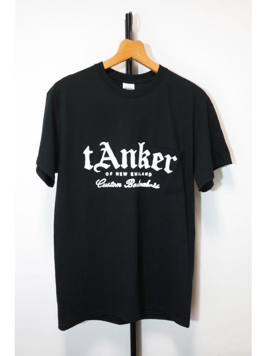Tanker print pocket T-shirt / タンカープリントポケットTシャツ / Black