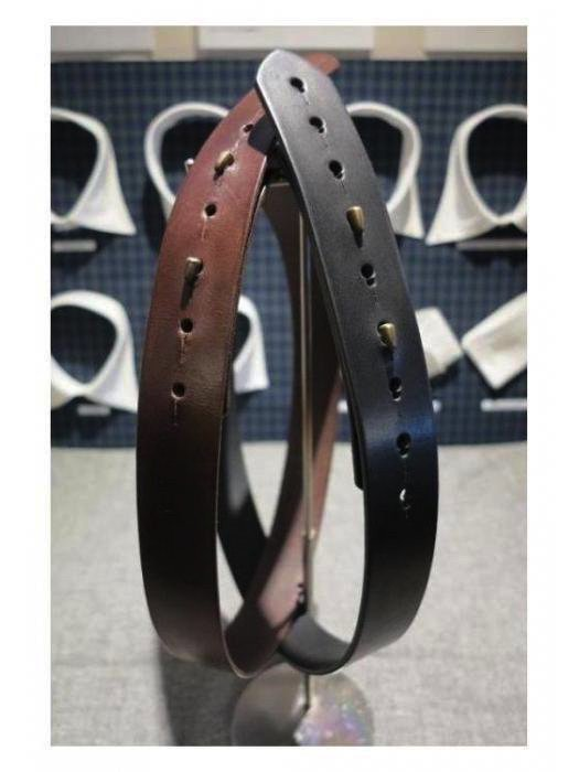 <img class='new_mark_img1' src='https://img.shop-pro.jp/img/new/icons10.gif' style='border:none;display:inline;margin:0px;padding:0px;width:auto;' />ころあい(KoroAi) / Leather belt / Saddle leather black