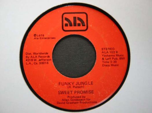 Sweet Promise - I'm A Music Man / Funky Jungle //45