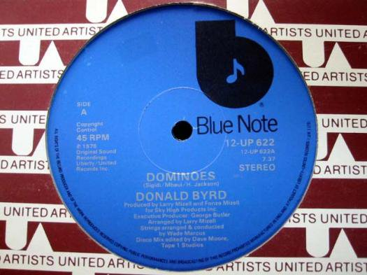 Donald Byrd - Dominoes / Wind Parade