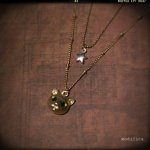 【modifica】CAT STAR NECKLACE ゴールド
