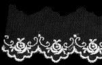 薔薇チュールレース  13.7m  No.1772