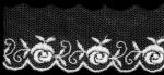 薔薇チュールレース  13.7m  No.24132