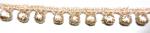 ラメケミカルレース    ゴールド Gold/シルバー Silver   13.7m  No.875004