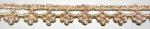 ラメケミカルレース    ゴールド Gold/シルバー Silver   13.7m  No.875005