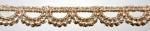 ラメケミカルレース    ゴールド Gold/シルバー Silver   13.7m  No.875006