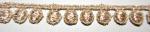 ラメケミカルレース    ゴールド Gold/シルバー Silver   13.7m  No.875007
